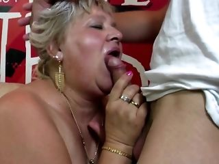 Round granny and mature dam have youthful peckers Bohemian porn